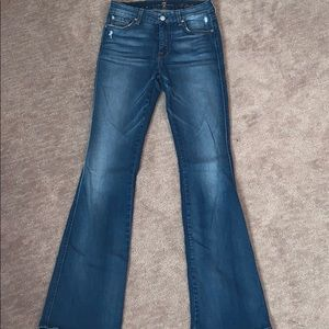 Women's 7 for all mankind bootcut jean sz.27